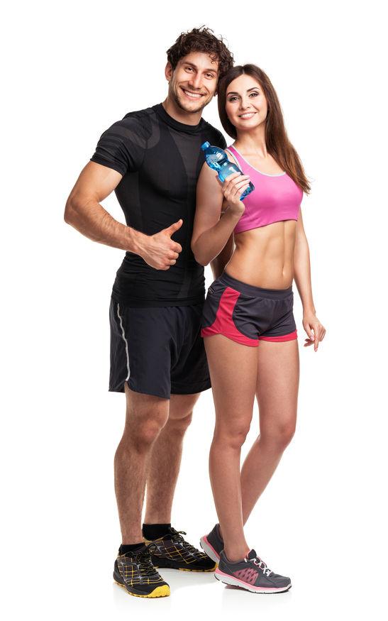 Boy uzatma taktikleri bir kadın bir erkek beslenme